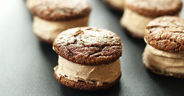 Chai Ginger Ice Cream Sandwiches   Recipe   Ice Cream Sandwiches ...