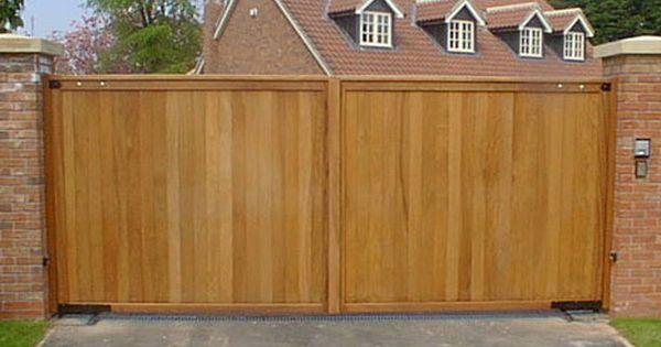 Timber gates wooden driveway gates buy timber gates for Motorized driveway gate price