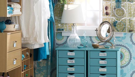 Walk-In Closet Storage Ideas