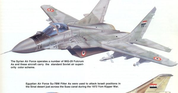 algerian air force mig25 syrian air force mig29