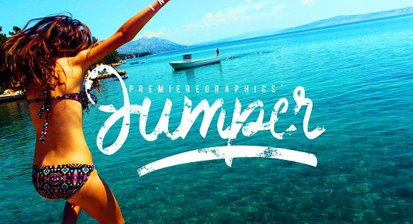 Jumper is not your ordinary handwritten script font. It is textured to make its rough personality, fiercer and bolder.