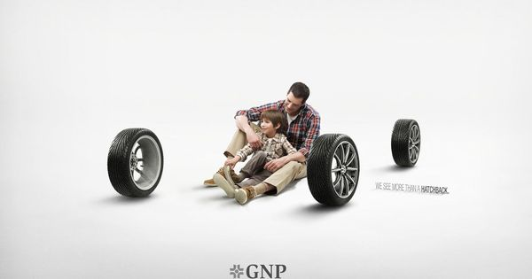 Gnp Car Dad Jpg 1600 1046 Advertising Awards Car Insurance Ad