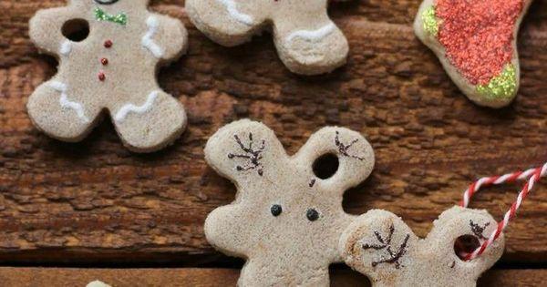 ... pâte à sel à fabriquer avec les enfants  Deco, Figurine and Noel
