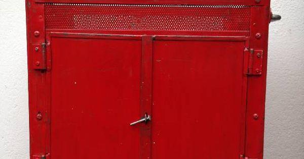Servante D Atelier Vintage Facom Rouge Facom Mobilier De Salon Vitrine