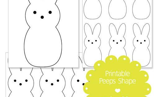 easter peeps coloring pages - photo#19