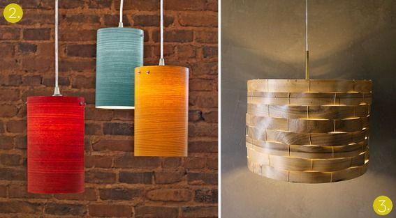 Roundup 10 Diy Wooden Lampshade Tutorials Wooden Lampshade Small Lamp Shades Rustic Lamp Shades