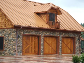 Log Home In Mountain City Tennessee Copper Roof House Tin Roof House Metal Roof Houses