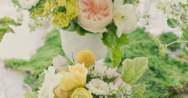 Wildflower bouquet - Beautiful flowers from our wedding by Lauryl Lane