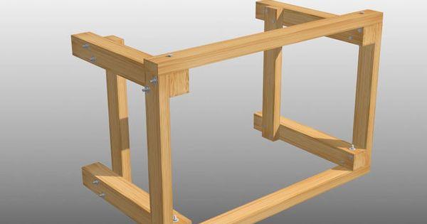 Construire un tabli comment construire tablis et construire - Comment construire un etabli ...