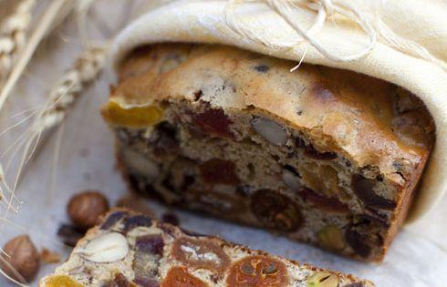 // fruit and nut bread... Fruitcake?