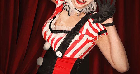 faschings schminktipp so gelingt euer harlekina clown make up fasching karneval kost me. Black Bedroom Furniture Sets. Home Design Ideas
