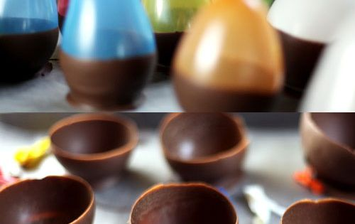 Chocolate Bowl Balloon Molds
