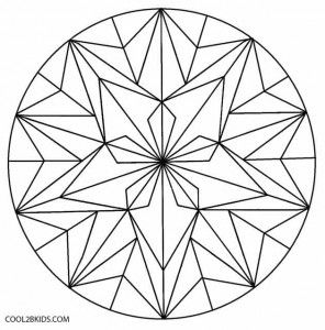Geometric Flower Coloring Pages 296x300 Jpg 296 300 Geometric Coloring Pages Geometric Flower Pattern Coloring Pages