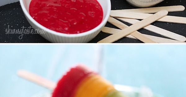 Fresh Fruit Pops - fruit puree, Frozen Mango, Kiwi, Raspberry Pops...made from