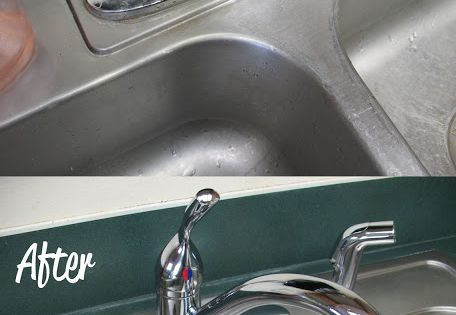 Stainless Steel Sink Cleaner Makes Your Kitchen Sink