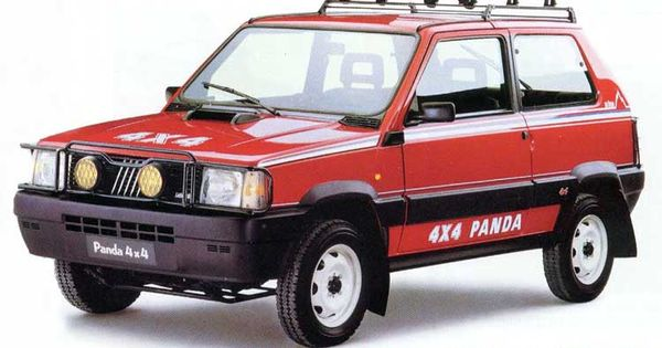 fiat panda 4x4 val d 39 is re 1987 cars pinterest ruote e auto. Black Bedroom Furniture Sets. Home Design Ideas