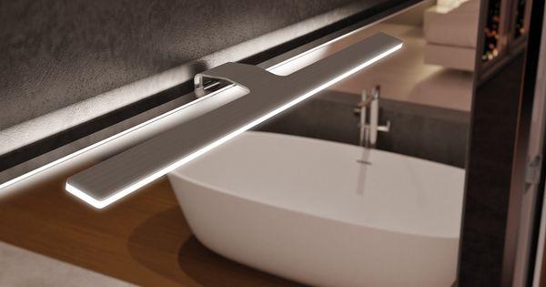 Spot f09 led pour armoire miroir de salle de bain sonia for Armoire bijoux miroir casa