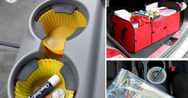 This life hacks will keep your car organized - even with crazy