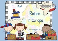 Unsere Kleine Grosse Welt Europa Schule Spiele Grundschule Und