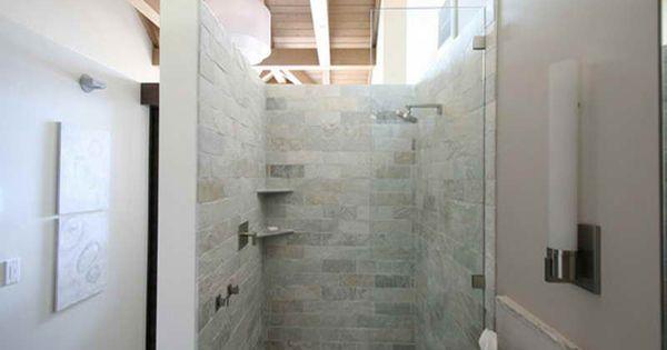 doorless walk in bathroom shower design ideas pictures
