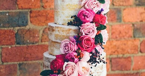 Now Trending | Naked Wedding Cakes | Aisle Perfect | Wedding Blog