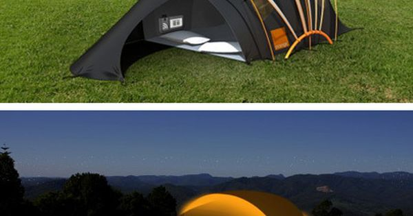 Orange Solar Tent: The Concept Tent has been designed by the Telecom