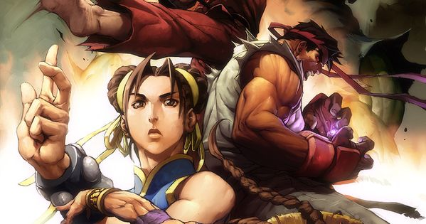 Street Fighter Cool Awesome Wallpaper Picture Art Artwork Gaming Video Game Videogame
