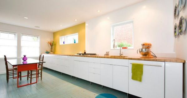 die alte küche renovieren weiße küchenschrank schubladen Ideen