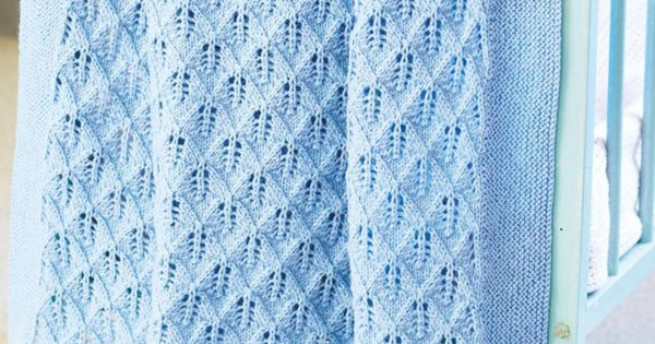 Knitting Ring Patterns : Cot blanket knitting pattern free My Baby Blankets Pinterest Cot blanke...