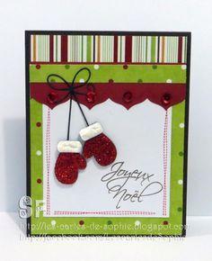 12 semaines / 12 cartes de Noël par Sophie | Stamped christmas
