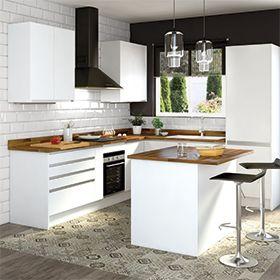 Delinia Horizon Blanco Mate Cocinas Cocinas Modernas