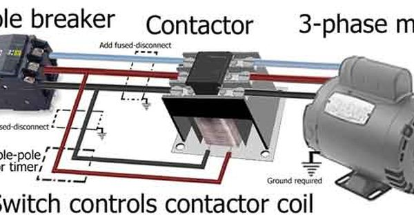3phase motor wiring Electrical reference Pinterest