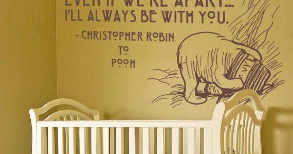 Quote from Christopher Robin to Winnie the Pooh ... good encouragement for