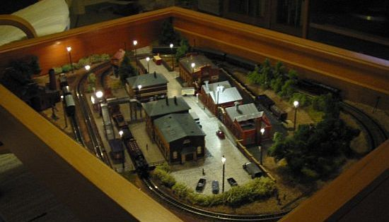 IKEA Coffee Table With Miniature Train Set Inside Ikea Coffee - Train set table