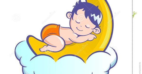 Cute Sleeping Babies Stock Vector Illustration Of Template 116712305