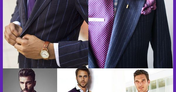 Purple is an elegant color that can give your outfit a classy look, many people cannot wear purple and look great in that color. Here are some men in the color purple that mix and blend the style. Do you see anything in this fashion combination that you l...