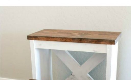 How to build a rustic step stool out of one board! oneboardchallenge