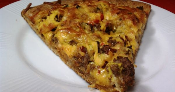 how to make cheeseburger pizza with pickles