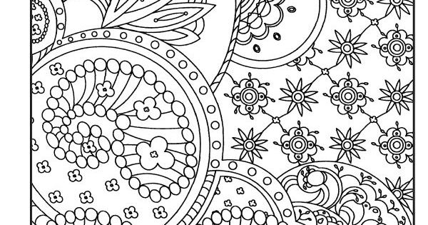 crazy design coloring pages - photo#14