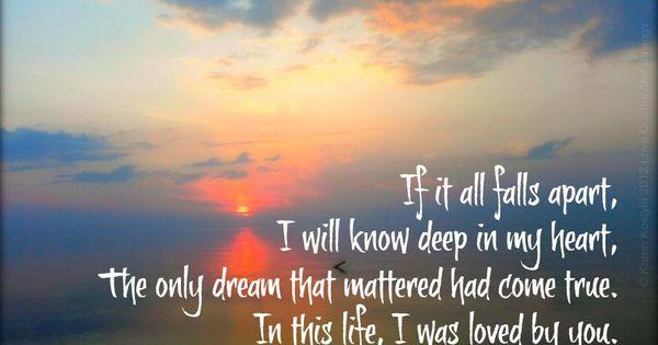 In this Life -- Collin Raye. Song lyrics