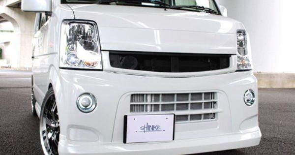Shinke エブリイワゴン用フロントグリル Da64w系用 Jufarre