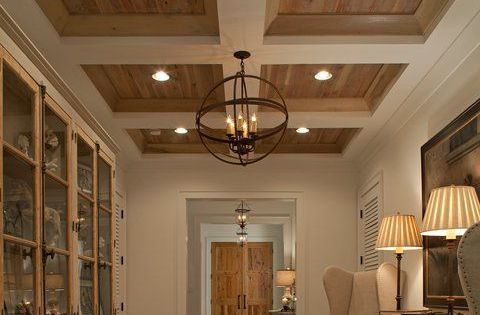 Coffered Ceiling Wood And Coffered Ceilings Pinterest