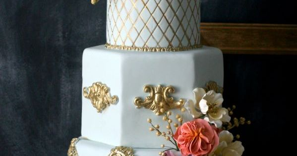Eye-Catching Wedding Cake Inspiration