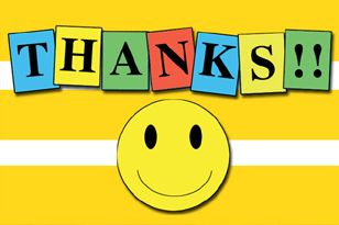 15 Smileys With Thanks Message Thanks Messages Thankful Smiley Symbols