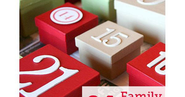 family advent ideas