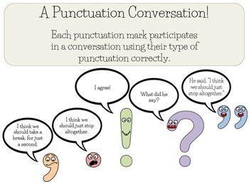 Punctuation Conversation Mark Writing Correct For Paraphrasing