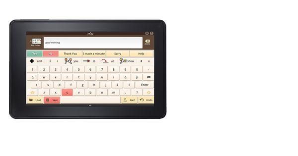 Avaz On The Kindle Fire Kindle Fire Apps Kindle Fire Wellness Design
