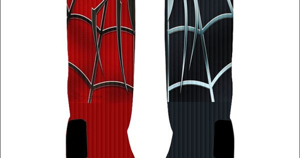 Custom Spiderman Socks Custom Nike Elite Socks by NikkisNameGifts, $18.00 | See