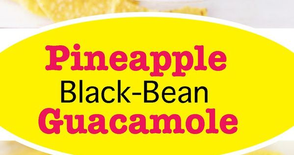 Guacamole, Black beans and Appetizers on Pinterest