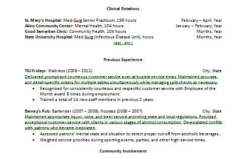 top 7 resume hints for new grad nurses new grad nurse